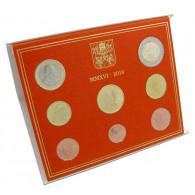 Euro Kursmünzensatz 2016 Vatikan mit Papst Franziskus