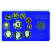 BRD 12,68 DM Kursmünzensatz 1999 PP 1 Pfennig bis 5 D-Mark