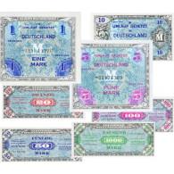 Banknoten Alliierten Militärbehörde 1944