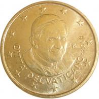 Vatikan 50 Cent 2008 bfr. Papst Benedikt XVI.
