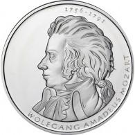 10 Euro Gedenkmünze Wolfgang Amadeus Mozart -