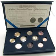 Malta Kursmünzensatz 2012 stgl. 9 Münzen  im Etui verkapselt