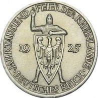 J.321  Weimar   3  Reichsmark   1925 Rheinlande  Sonderpreis