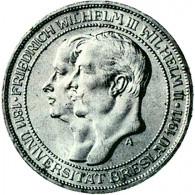 J.108 Preußen    3 Mark 1911  Universität Breslau  Sonderpreis