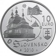 Slowakei 10 Euro 2010 Holzkirchen in der Slowakei