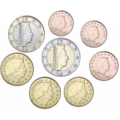 Kursmünzensatze Euro Luxemburg 2010
