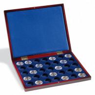 Zubehoer 322330 - Muenzkassette VOLTERRA UNO de Luxe 2 Euro Muenzen