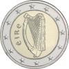 2 Euro Münzen aus Irland mit Harfe