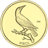 20 Euro Goldmünze Heimische Vögel Pirol BRD 2017 Mzz Hamburg