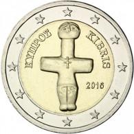 Zypern 2 Euro 2016 bfr. Idol von Pomos Muenze