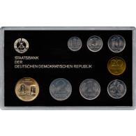 DDR Kurssatz 1 Pfennig bis 5 Mark 1985 Dresdner Frauenkirche