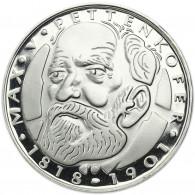 Deutschland 5 DM Silber 1968 PP Max von Pettenkofer