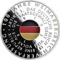 Deutschland-20-Euro-2019-100-Jahre-Weimarer-Reichsverfassung