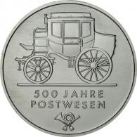 J.1631 - DDR 5 Mark 1990 - 500 Jahre Postwesen