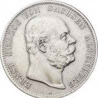 Kaiserreich 5 Mark 1901ss Herzog Ernst von Sachsen-Altenburg J.143