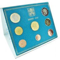 Vatikan Kursmünzen 2019 3,88 Euro Stempelglanz im Folder mit Papst Wappen