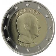 Monaco 2 Euro-Münze 2006 FürstAlbert  PP