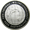 10 Euro 2005 Silbermünze zur Fußball-WM 2006 3. Ausgabe