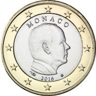 1 Euro Münze 2016 bfr. Fürst Albert II. Monaco