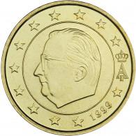 Belgien 50 Cent 1999 bfr. König Albert II.