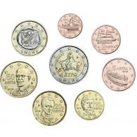Griechenland 1 Cent - 2 Euro bfr. 2019 lose