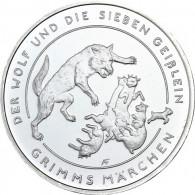 20 Euro Silbermünzen 2020 Der Wolf und die 7 Geißlein Deutschland