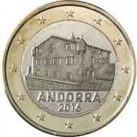 Andorra 1 Euro 2016 Kursmünze