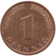 BRD 1 Pfennig 1999 F