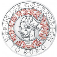 Neue Serie - Himmlische Boten - Österreich 10 Euro Silber 2017 PP - 2. Ausgabe Verkündungsengel Gabriel im Etui