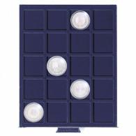 334107 - Münzenbox SMART  20 eckige Fächer bis 41 mm