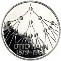 Deutschland 5 DM 1979 PP Otto Hahn in Münzkapsel