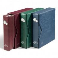 338787 - NUMIS  Münzenalbum inkl. Schutzkassette Blau