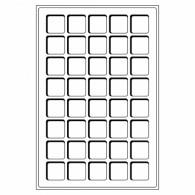 302392 -  Tableaus 40 Faecher bis 33 mm 2er Set