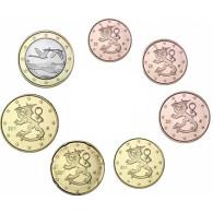 Finnland 1,88 Euro 2010 bfr. 1 Cent - 1 Euro lose