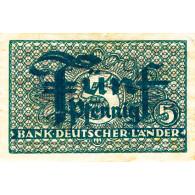 Banknote - R.250 5 Pfenning ohne Datum 1948