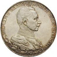 J.112 - Preußen 3 Mark Gedenkmünze Silber  1913 Regierungsjubiläum