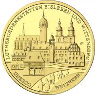 Deutschland 100 Euro Gold 2017 Luthergedenkstätten Mzz. Historia Wahl lose