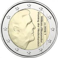 Euro Gedenkmünzen aus den Niederlanden König Willem Alexander Servatius Brücke