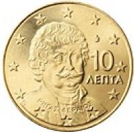 Griechenland 10 Cent 2004 bfr. Rigas Velestinlis- Vereos