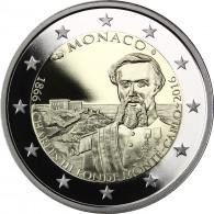 2 euro Gedenkmünze aus Monaco 2016 PP Polierte Platte