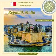 Kurssatz 3,88 Euro 2017 Malta mit Mzz. F