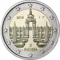 2 Euro Sondermünze 2016 Dresdner Zwinger