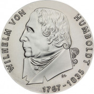 DDR 20 Mark 1967  Wilhelm von Humboldt Probe mit Randschrift 20 Mark