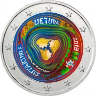 Litauische Volkslieder  Sutartines 2 Euro Sammlermünzen mit  Farbmotiv bestellen Münzzubehör Kataloge