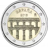 Altstadt und Aquädukt von Segovia Spanien Euro 2016