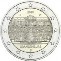 2 Euro Münze Schloss Sanssouci Sammlermünzen bestellen