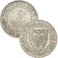 """J.323 - 3 Reichsmark 1926 """" Lübeck """""""