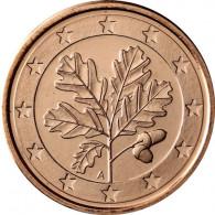 Deutschland 5 Cent 2019 Stgl. Mzz. A Berlin Kursmünzen sammeln