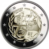 Frankreich-2-Euro-2021-75-Jahre-UNICEF-PP-AV