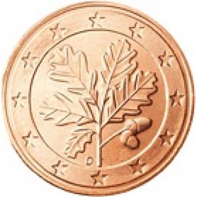 Deutschland 5 Cent 2002 bfr. Mzz. J Eichenzweig